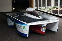 B-7 solar car