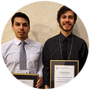 Photo of Skule™  Lunch & Learn speaker series recognized three undergraduate students