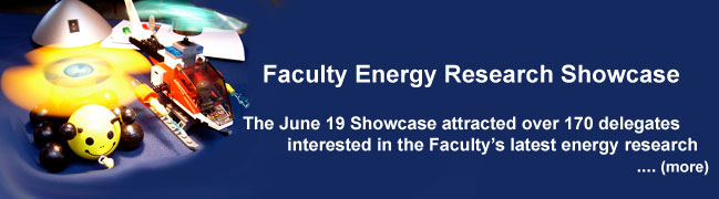 Faculty Energy Research Showcase